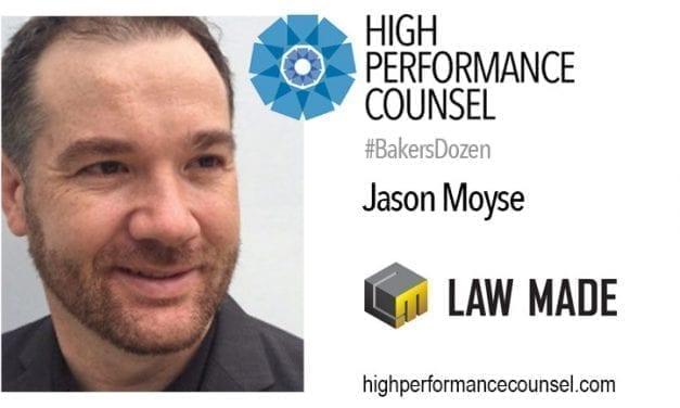 #BakersDozen: Jason Moyse