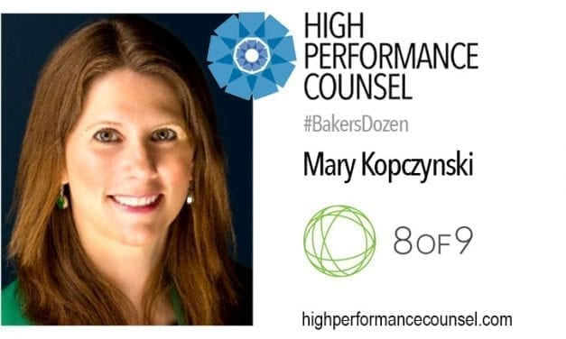 8of9 CEO MARY KOPCZYNSKI TAKES ON THE #FEARLESSLAW LEGAL LEADERSHIP INTERVIEW