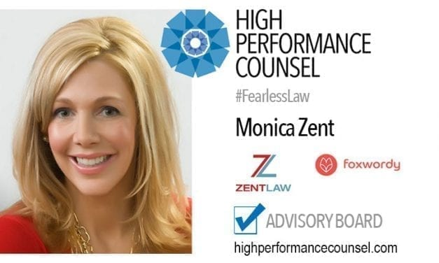 On #BakersDozen: Monica Zent, Founder & CEO of Foxwordy In Interview with High Performance Counsel