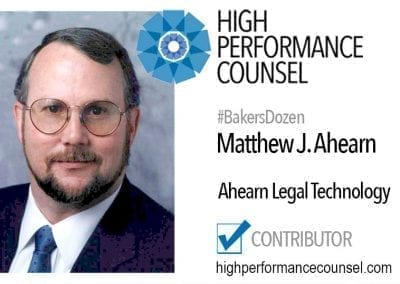 Matthew J. Ahearn, Esq.