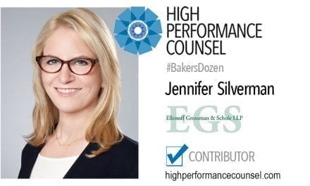 On #BakersDozen: Jennifer Silverman In Interview with High Performance Counsel