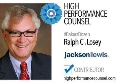 Ralph C . Losey