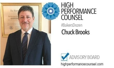 On #BakersDozen: Chuck Brooks In Interview With High Performance Counsel