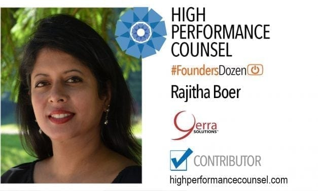 On #FoundersDozen – Rajitha Boer, Founder & CEO of Yerra Solutions Speaks With High Performance Counsel