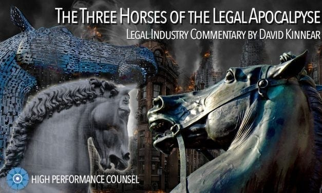 The Three Horses Of The Legal Apocalypse Ride Forth