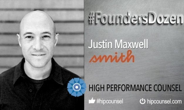 ON #FOUNDERSDOZEN – JUSTIN MAXWELL CO-FOUNDER OF SMITH.AI SPEAKS WITH HIGH PERFORMANCE COUNSEL