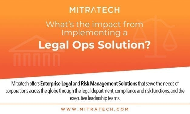 What's The Impact From Implementing A Legal Ops Solution? Mitratech Explains