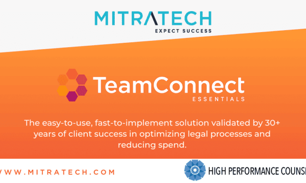 Mitratech Announces TeamConnect Essentials for Mid-Sized Legal Departments