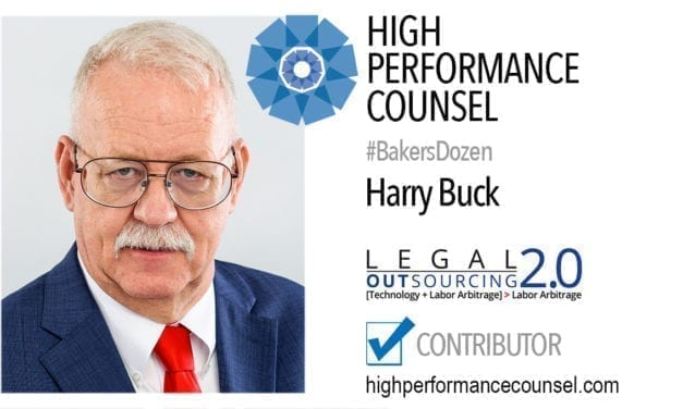 Harry Buck JD, CLSP | CEO of LO2 In Interview With High Performance Counsel