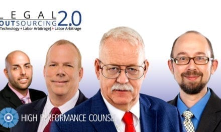 In the #Spotlight: High Performance Counsel Interviews the Leadership Team of Legal Outsourcing 2.0 (LO2)