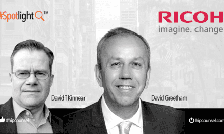 In the #Spotlight: David Greetham of RICOH speaks with High Performance Counsel