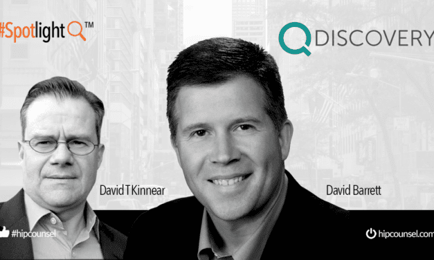 In the #Spotlight: David Barrett CEO of QDiscovery Speaks With High Performance Counsel