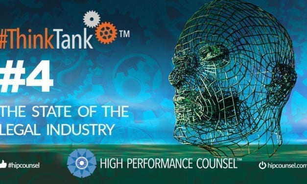 #ThinkTank State of the Legal Industry Briefing #4 – December 6, 2019