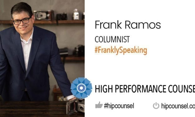 On #FranklySpeaking: Finding Your Passion – by HPC Columnist Frank Ramos