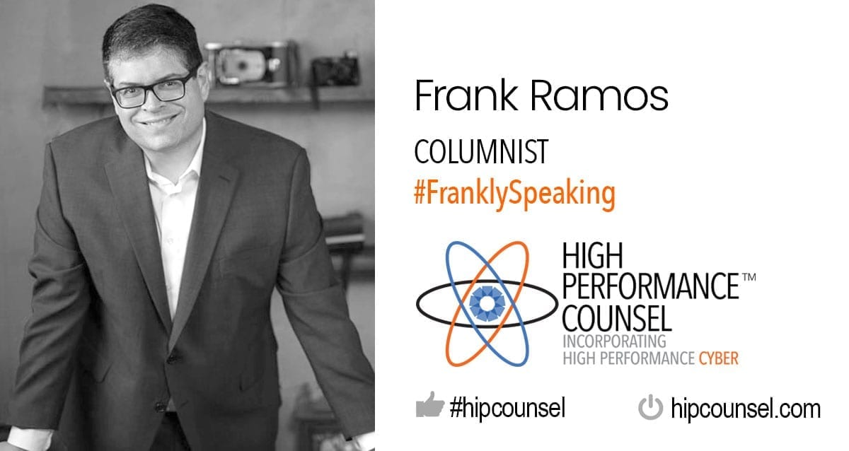 On #FranklySpeaking with Frank Ramos: The Practice and Process of Law: Checklists for Every Occasion