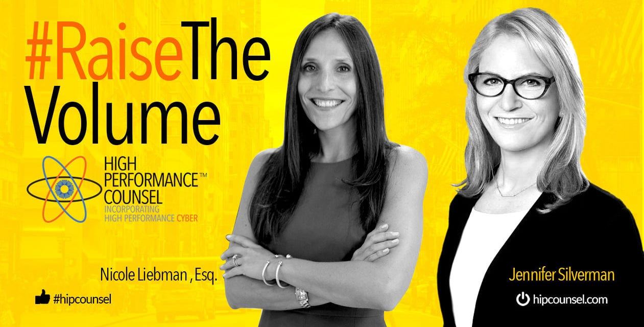 On #RaiseTheVolume: Jennifer Silverman Interviews Nicole Liebman