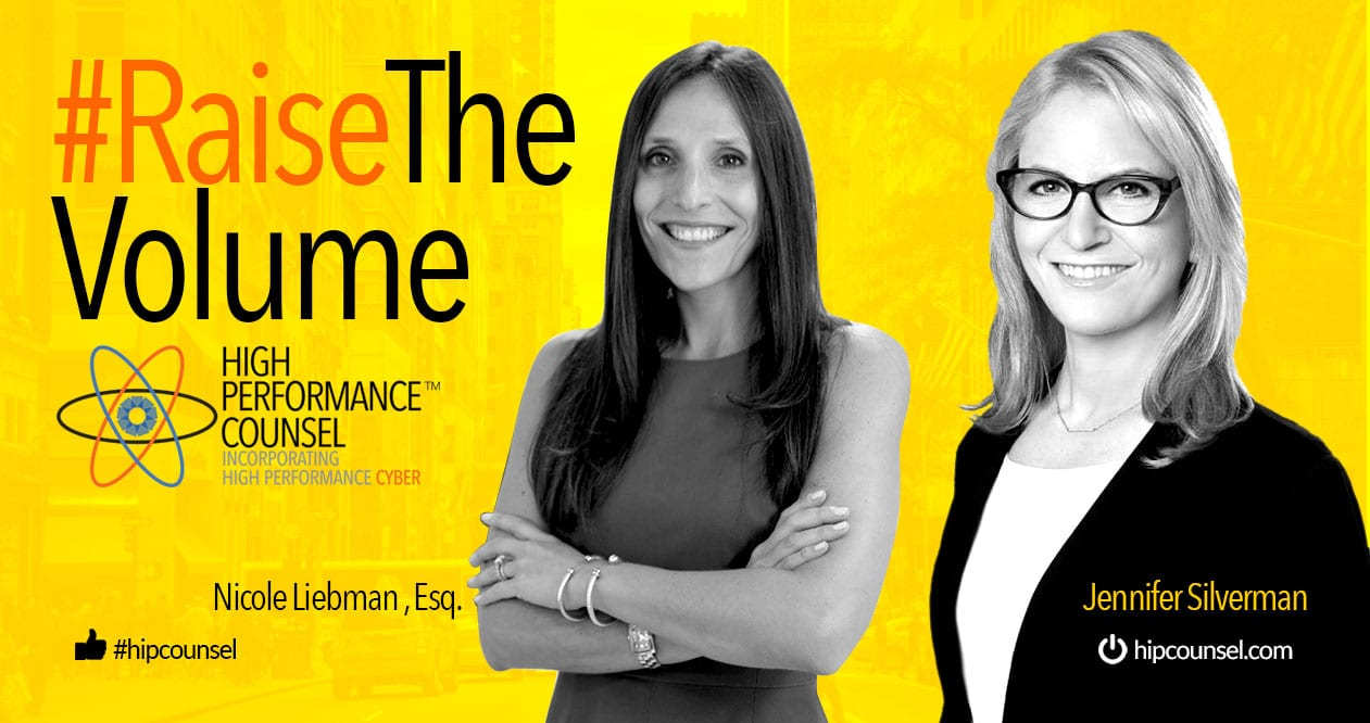 On #RaiseTheVolume: Jennifer Silverman Interviews Nicole Liebman