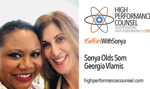 High Performance Counsel Presents #SelfiesWithSonya: Georgia Vlamis: General Counsel of FreightCar In Interview With Sonya Olds Som
