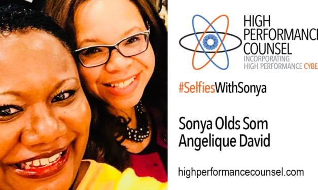 High Performance Counsel Presents: Angelique David Executive Managing Director of Ziegler On #SelfiesWithSonya