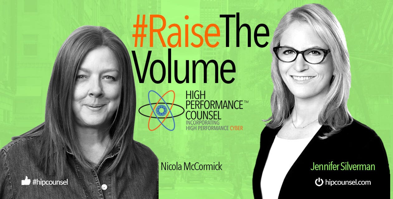 On #RaiseTheVolume – Nicola McCormick In Interview With Jennifer Silverman