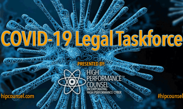 Launching Tuesday March 24: COVID-19 Legal Industry Taskforce