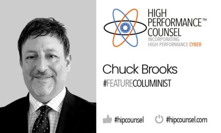 HPC Presents A Cybersecurity Cheat Sheet For General Counsel And The C-Suite By Leading Cyber Expert Chuck Brooks
