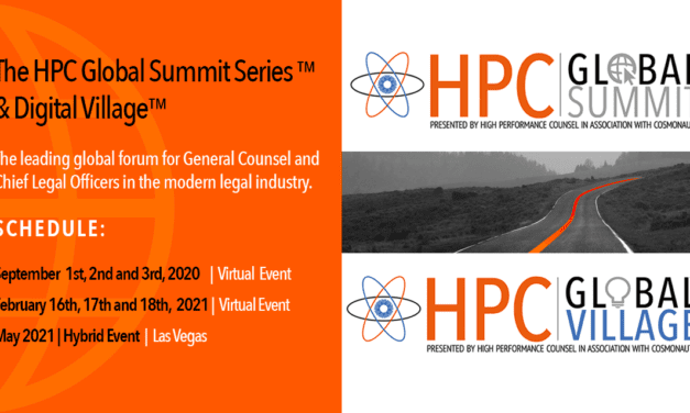 HPC Launches Global GC Summit and Interactive Digital Village For The Modern Legal Industry